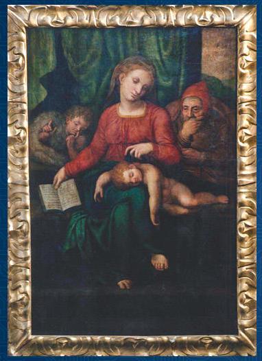 Stolen Michelangelo or Venusti