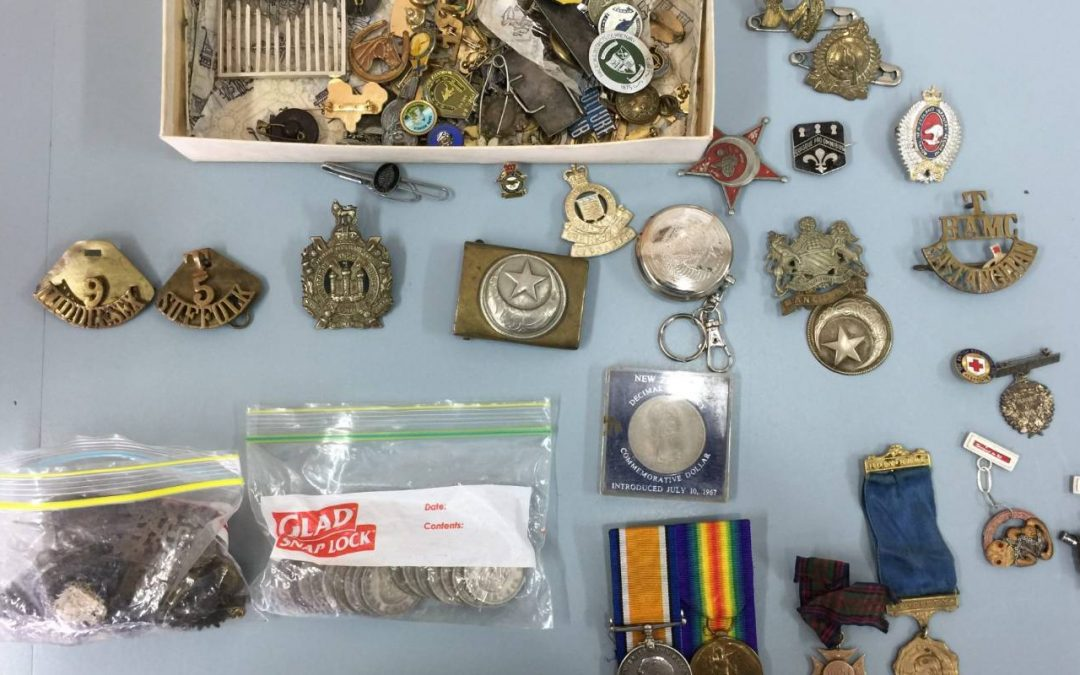 Police uncover 'priceless' artefacts in drug search