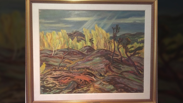 Group of Seven painting worth $200K stolen from Toronto home